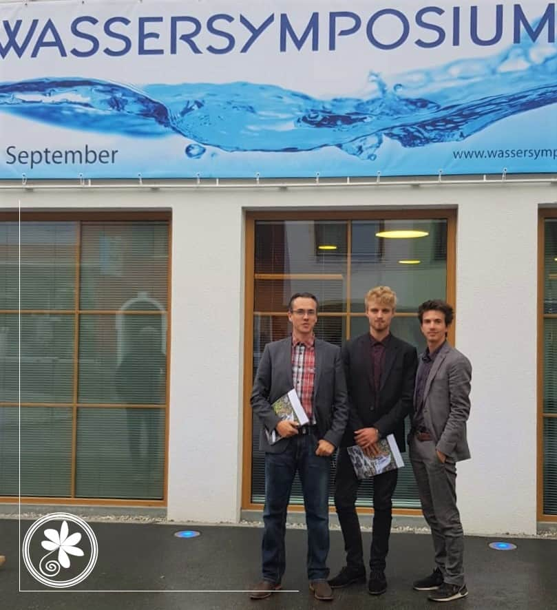 Herr Fenten und Herr Meiners zu Besuch beim Wassersymposium